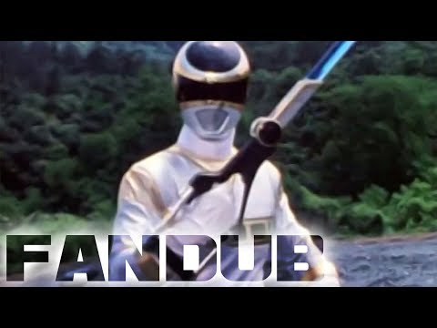 MegaRanger Fandub: MegaSilver&39;s Debut