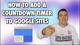 How to Add a Countdown Timer to Google Sites