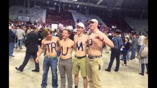 "12,000!+ crowd went to hear Donald Trump Little Rock, Arkansas ""Beats record"""