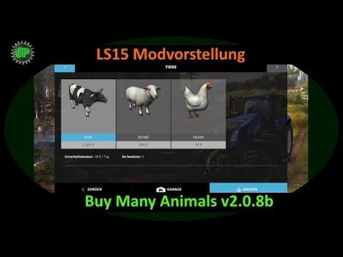 ls15 modvorstellung buy many animals v2 youtube. Black Bedroom Furniture Sets. Home Design Ideas