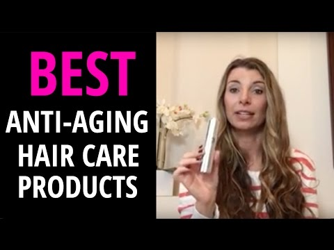 Anti-aging hair care products
