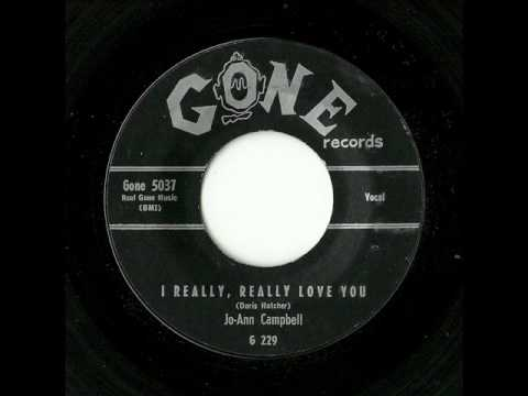 Jo-Ann Campbell - I Really, Really Love You (Gone)