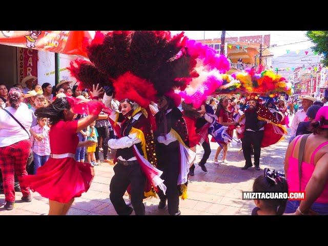 Así iniciaron las Fiestas Tradicionales de Pascua Tuzantla 2017 - Desfile