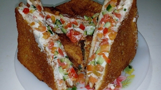 Chicken Fry Sandwich By (King Chef Shahid)