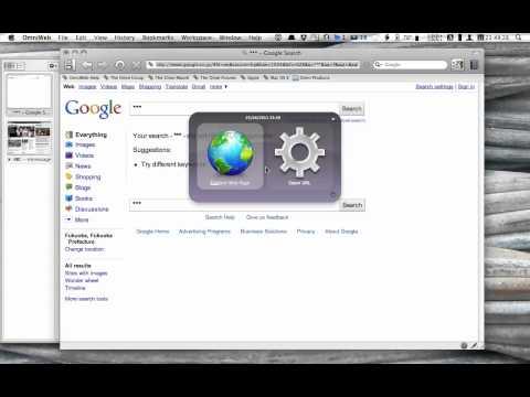 OmniWeb plugin use - Quicksilver