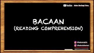 Tips Trik menjawab soal bacaan Bahasa Inggris (READING COMPREHENSION) | PKN STAN, SBMPTN