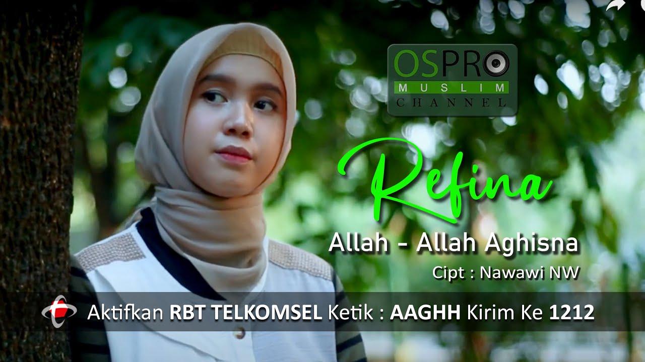 allah allah aghisna refina versi indonesia youtube