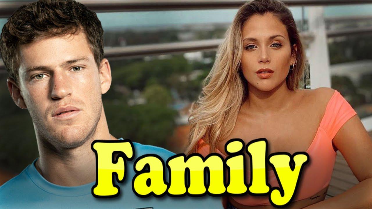 Diego Schwartzman Family With Girlfriend Barbie Velez 2020 Youtube