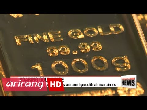 Gold price hits its highest level this year amid geopolitical uncertainties