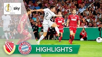 Energie Cottbus - FC Bayern München 1:3 | Highlights - DFB-Pokal 2019/20 | 1. Runde