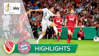 Energie Cottbus - FC Bayern München 1:3 | Highlights - DFB-Pokal 2019/20 | 1. Runde