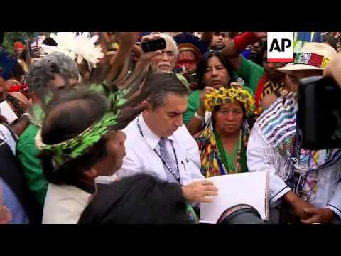 VARIOUS GROUPS PROTEST OVER LACK OF PROGRESS AHEAD OF RIO EARTH SUMMIT