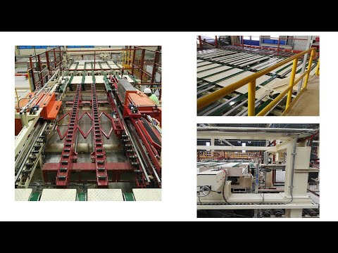 paper faced plasterboard production line/gypsum board manufacturing  automatic line