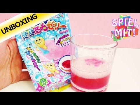 Popin Cookin Kracie Süßigkeiten selber machen – Süßes Getränk- Unboxing & Demo