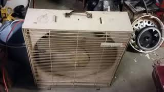 1956 westinghouse box fan first text