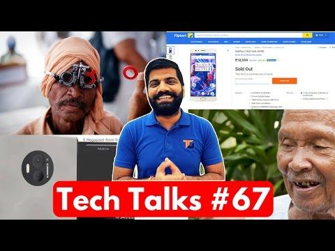 Tech Talks #67 - Free 100MB Data, Nokia Dual Camera, EU Galileo, Microsoft Eyecare, Flying Drone
