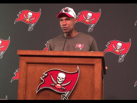 Bucs DC Leslie Frazier Full Press Conference (8/27)