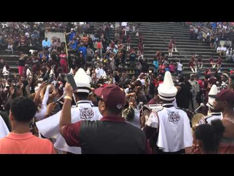 Morehouse College Homecoming 2015 - Band and Mahogany in Motion at halftime