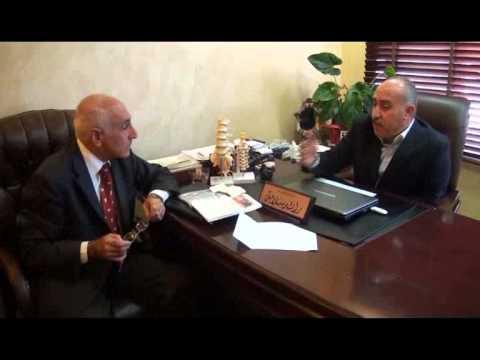 برنامج لقاء المشاهير التي أجريت في مقر مركز الوتر الطبية مع الدكتور مظهر ياسين