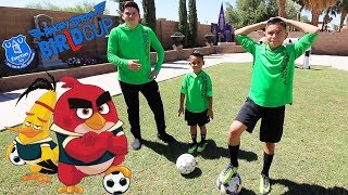 Angry Birds - BirLd Cup   Challenges with EVERTON FC   Soccer