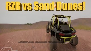 Forza Horizon 3 JUMPING DUNES In A Polaris RZR Rockstar Edition