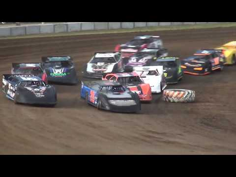 IMCA Late Model make up feature Independence Motor Speedway 7/13/19