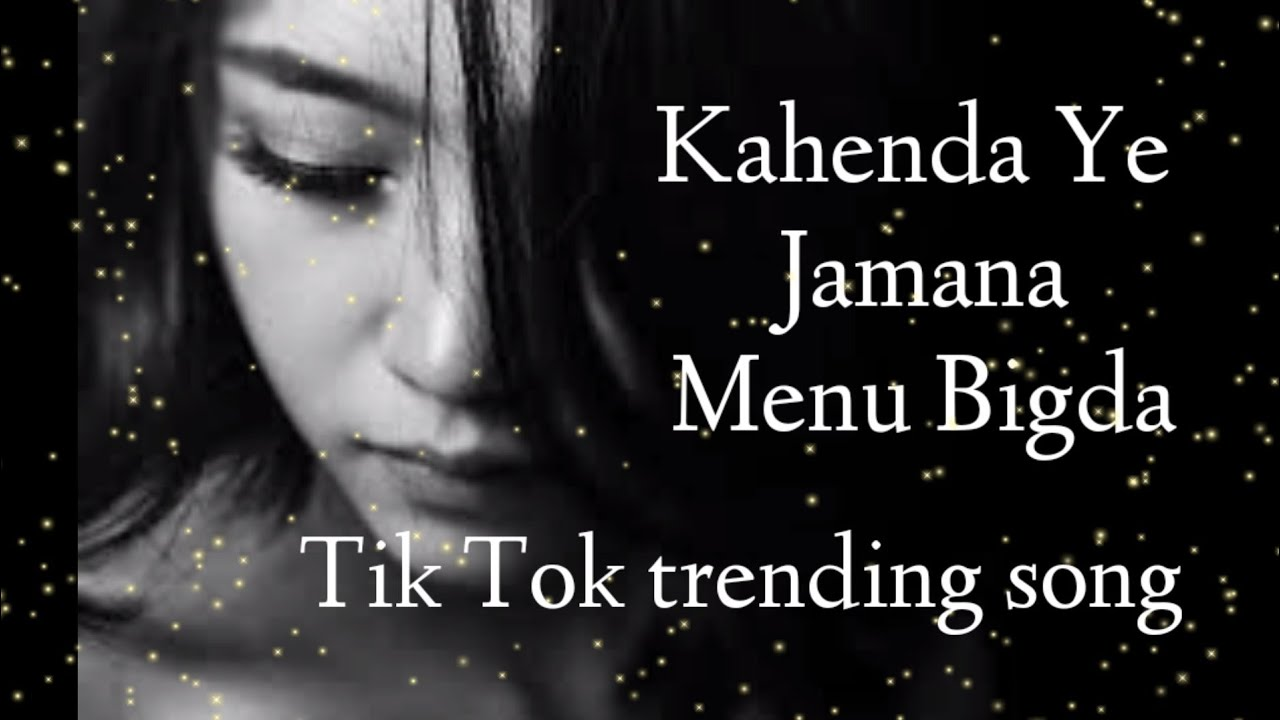 Kahenda Ye Jamana Menu Bigada Black Hearted Song Tik Tok Viral Song
