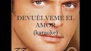 Luis Miguel 33 (Karaoke) 03 Devuélveme el amor