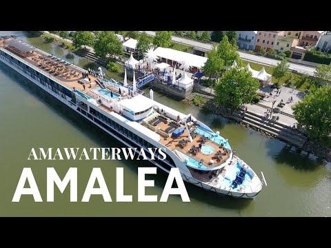 AmaWaterways AmaLea on the Danube - Inside Look