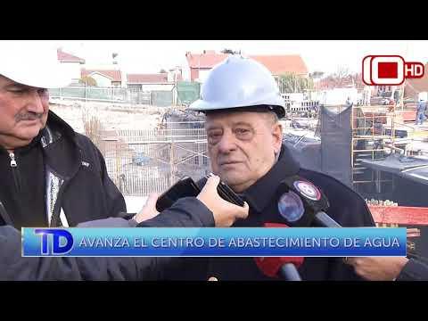 Avanza el centro de abastecimiento de agua en Mar del Plata
