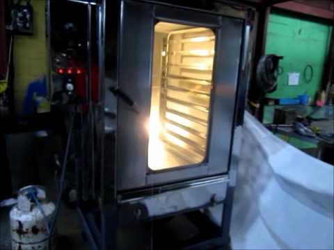 Horno industrial para panaderias de 5 7 8 bandejas en for Horno industrial