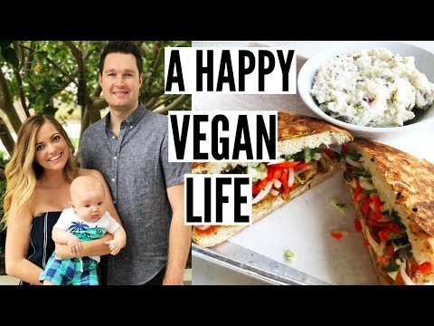 A day in the life of a VEGAN FAMILY