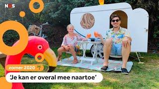 Julia heeft een mini-caravan gemaakt