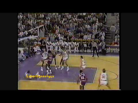 Magic Johnson 1990: 24pts & 24asts vs. Phoenix Suns