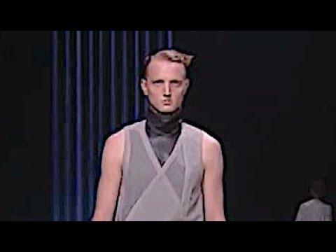 RICK OWENS Spring Summer 2013 Menswear Paris - Fashion Channel