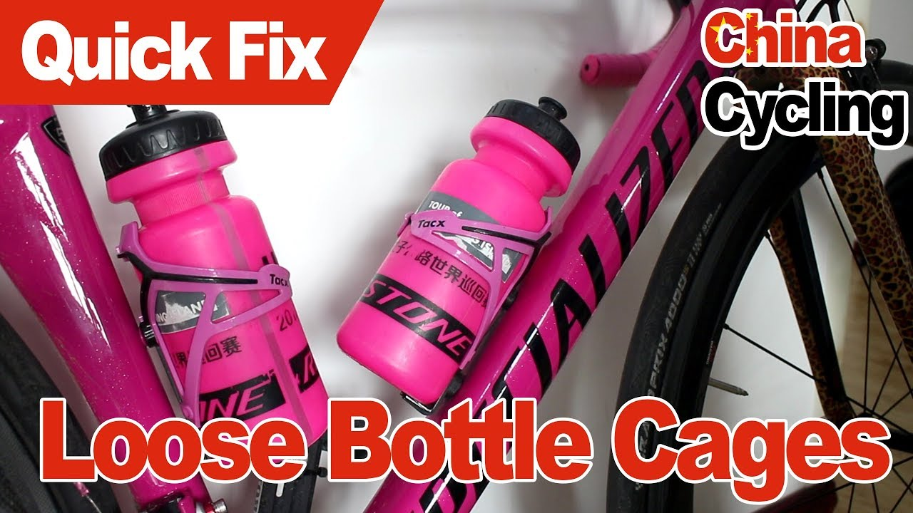 With fixing bolts NEW. SPECIALIZED ALLOY WATER BOTTLE CAGE