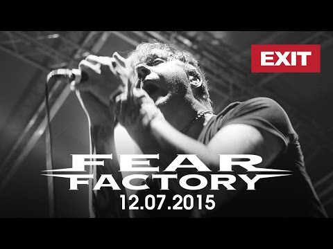 FEAR FACTORY - Live at EXIT Festival, Serbia, 12.07.2015