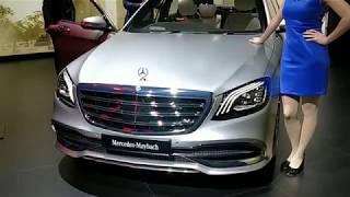 New Mercedes Maybach S650 Walkaround - Features and Specs - Auto Expo 2018 #ShotOnOnePlus