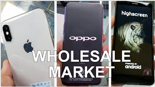 China Wholesale Smartphone Market Crazy Prices iPhones Russian Phones 📱