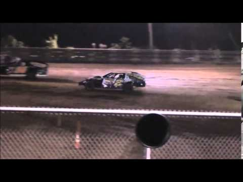 AMRA Modified B-Main #2 from Ohio Valley Speedway 8/9/14.