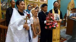 Православное венчание в Таиланде