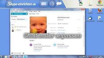 Skype Chatfenster anpassen