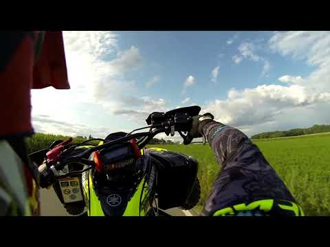 Yamaha Raptor swap honda Crf 1000 engine
