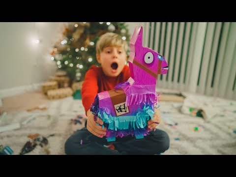 Fortnite Llama Drama Loot Pinata - Christmas Presents Part 1