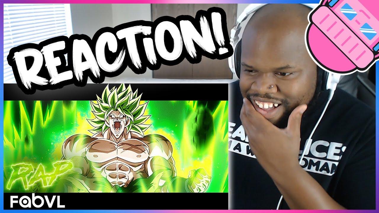Broly Rap Song Reaction - Stranded | FabvL ft Dreaded Yasuke [Dragon Ball]