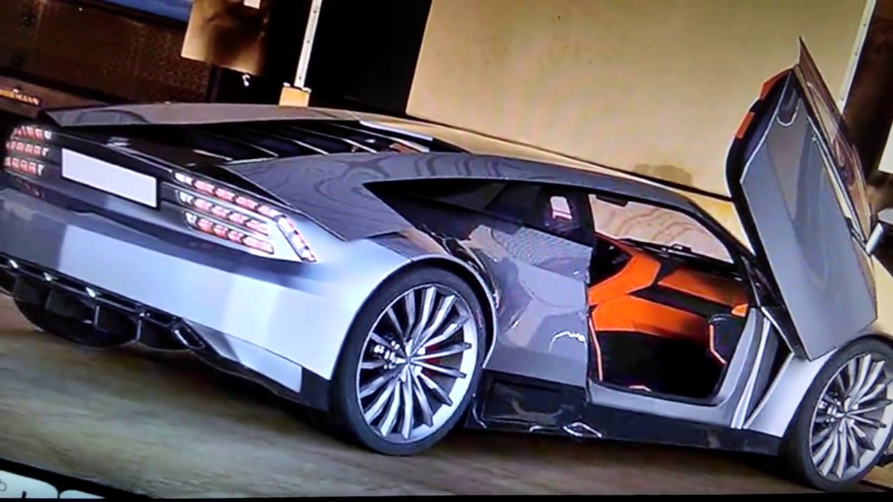Dmc Delorean New 2016 Concept Car That Will Be Released In 2017 Youtube