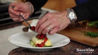 Gourmet Sous Vide Halibut & Zucchini