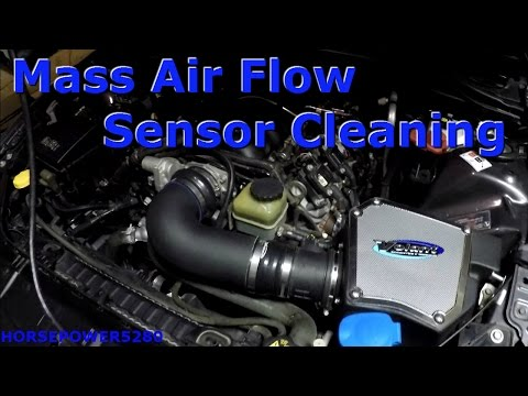 Pontiac G8 Mass Air Flow Sensor Cleaning