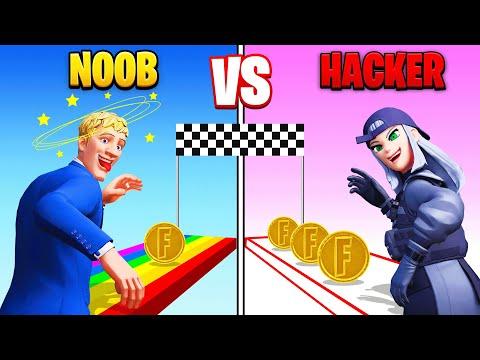 NOOB vs HACKER For 💰 in Fortnite - SSundee