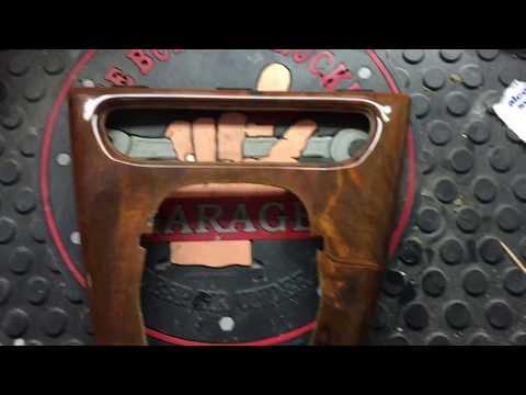 How to fix cracks in Jaguar wood panelling